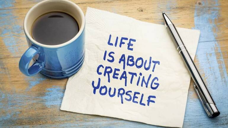 Life is about Creating Yourself ~ Pastor Poju Oyemade