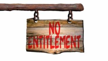 No Entitlement ~ Pastor Poju Oyemade