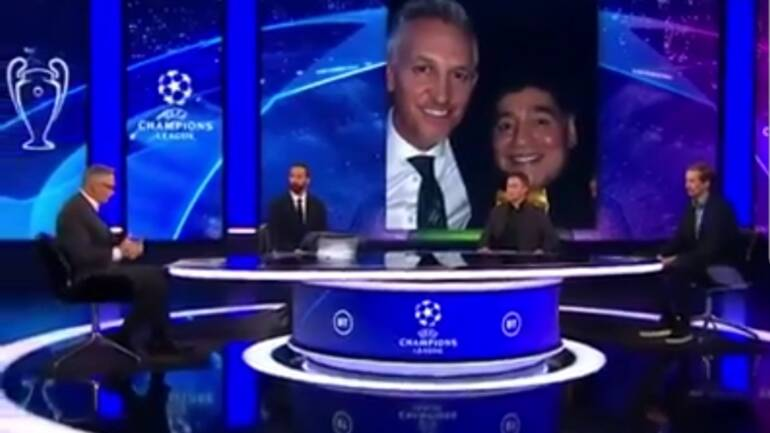 Gary Lineker's tribute to Maradona and appreciation of his football skills