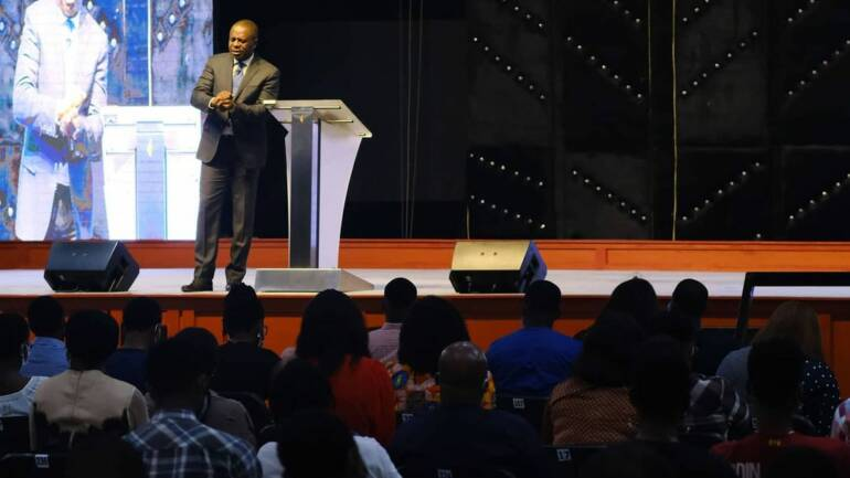 The distinction between mercy and grace ~ Pastor Poju Oyemade
