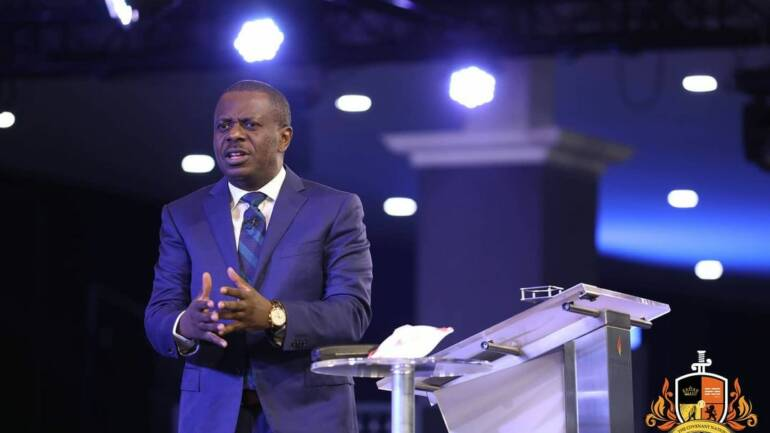Return to God and make him your only source ~ Pastor Poju Oyemade