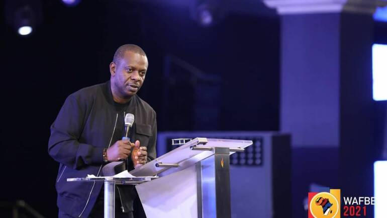 First ask God to lift the veil so you see ~ Pastor Poju Oyemade