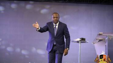 In making God my source can I ask people for help? ~ Pastor Poju Oyemade